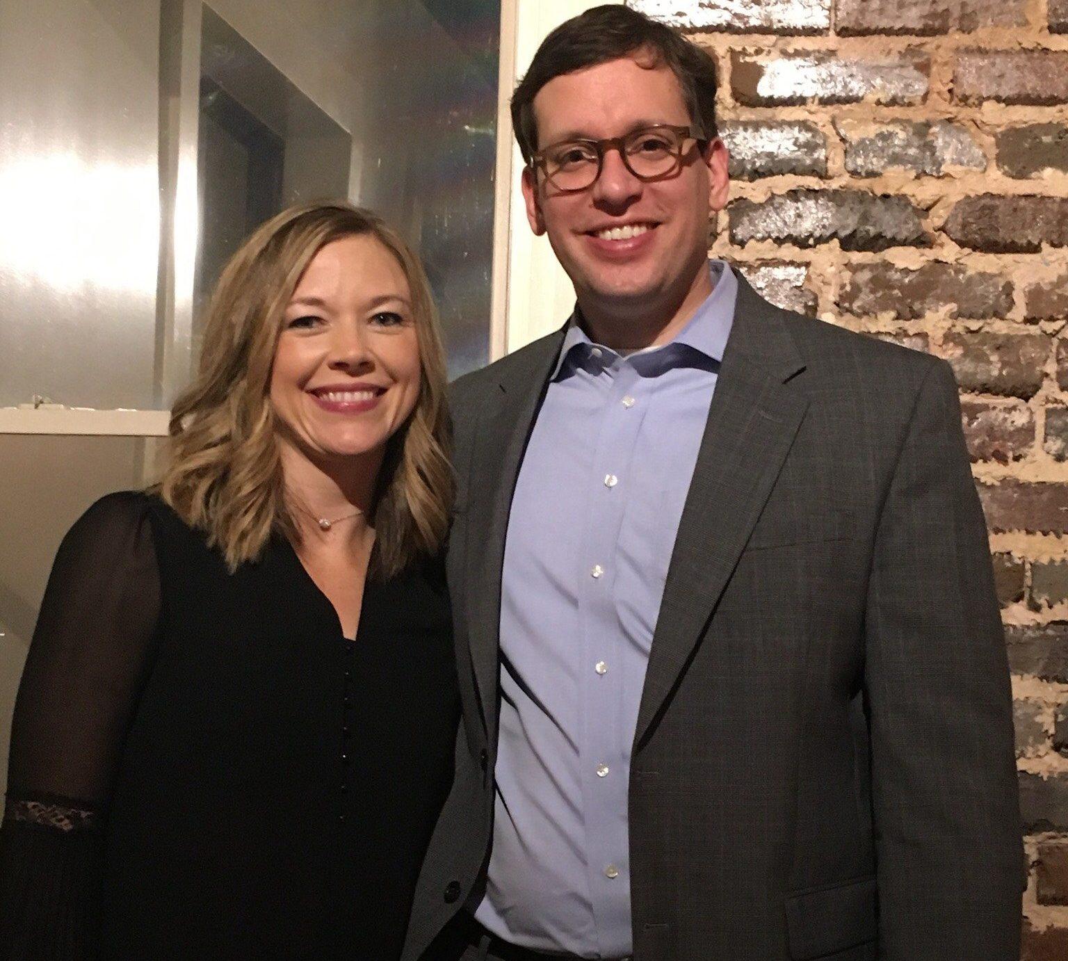 Stacie and Daniel Jackson