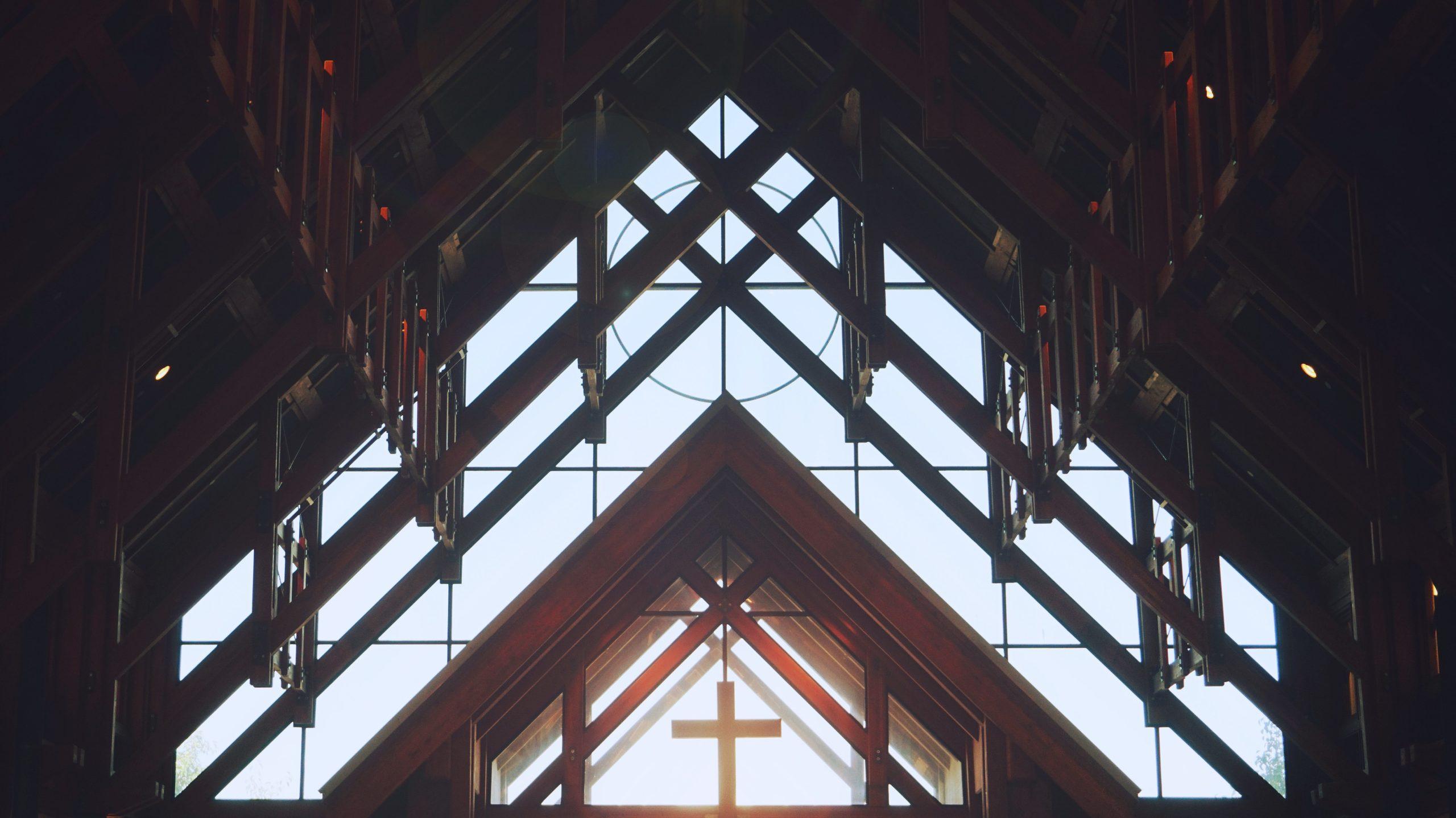 Church cross easter blog
