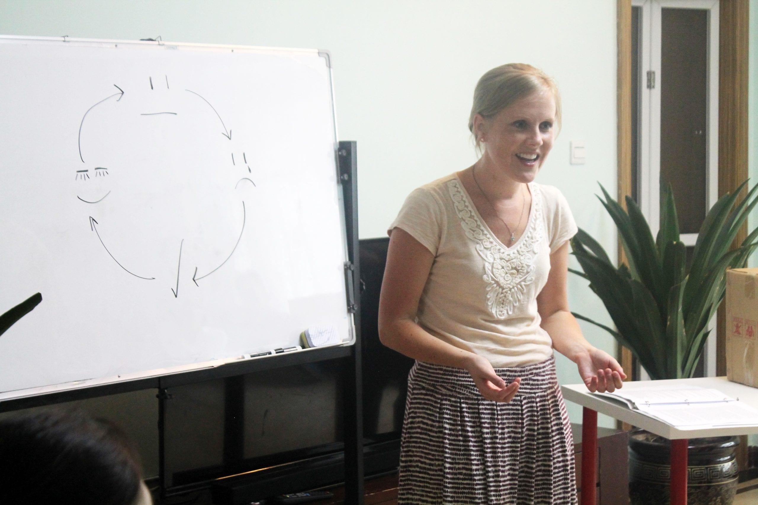 whitney teaching